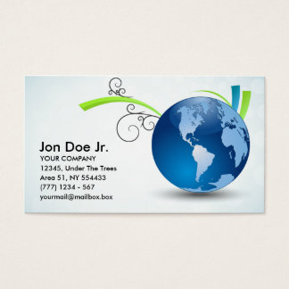 International transport business card