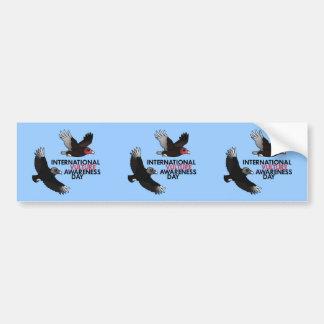International Vulture Awareness Day Car Bumper Sticker