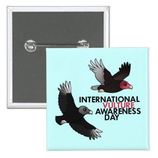 International Vulture Awareness Day Button