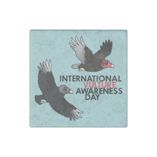 International Vulture Awareness Day Stone Magnet