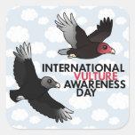 International Vulture Awareness Day Square Sticker