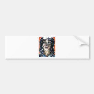 International Woman of Mystery Bumper Sticker
