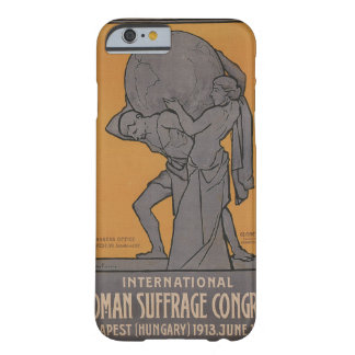 International Woman Suffrage Propaganda Poster Barely There iPhone 6 Case
