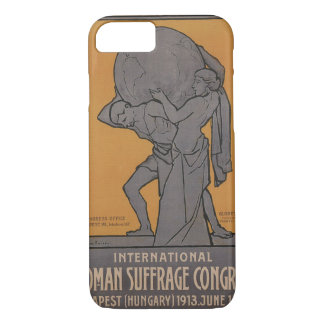 International Woman Suffrage Propaganda Poster iPhone 8/7 Case