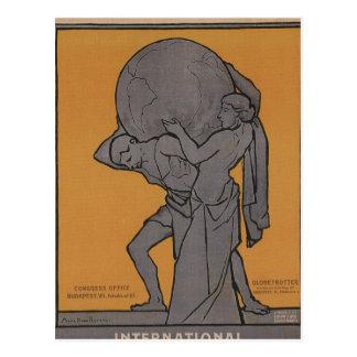 International Woman Suffrage Propaganda Poster Postcard
