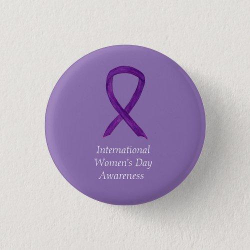 International Womens Day Awareness Custom Pins