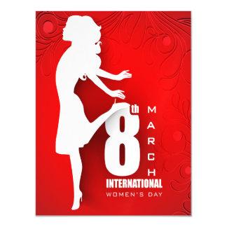 International Women's Day Magnetic Card