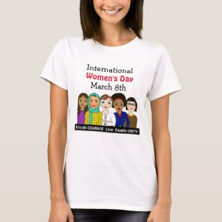 International Women's Day March 8th T-Shirt