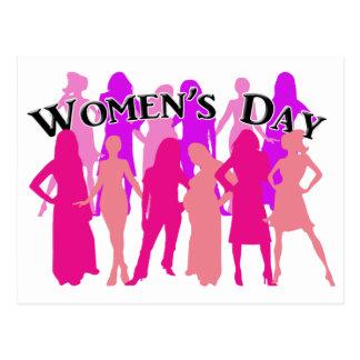 International Women's Day Postcard