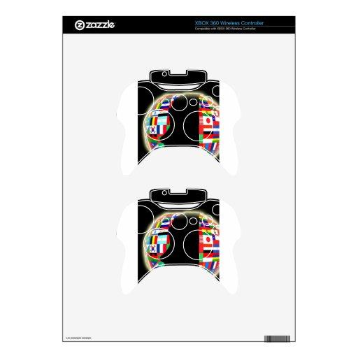 International World Flags Xbox 360 Controller Skin