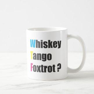 International wtf coffee mug
