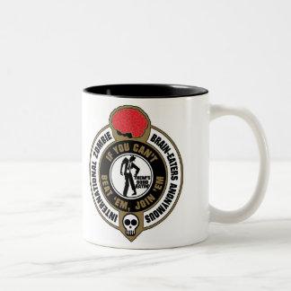International Zombie Brain-Eaters Anonymous Two-Tone Coffee Mug