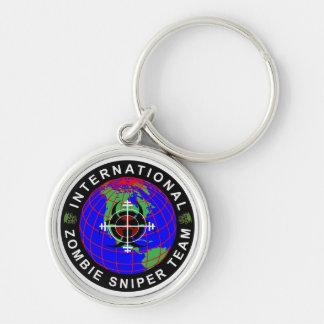 International Zombie Sniper Team Keychain