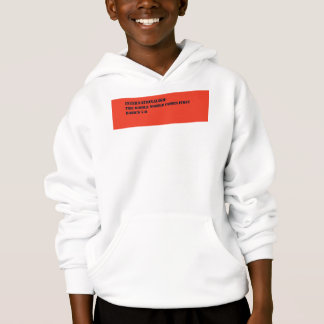Internationalism hoodie