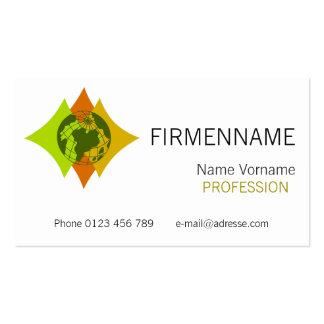 internationally business card