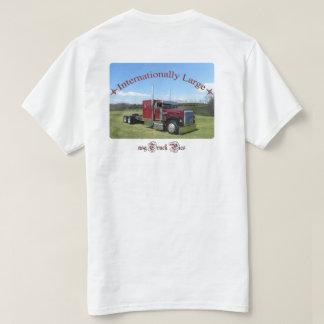 Internationally Large (logo front #2) Tee Shirt