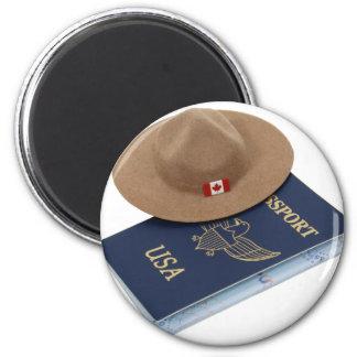 InternationalTravels053009 2 Inch Round Magnet