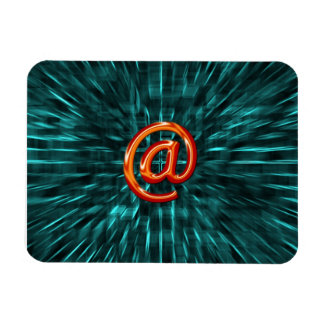Internet abstract magnet