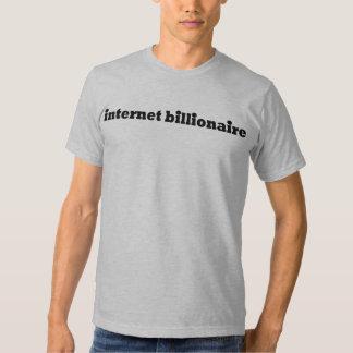 Internet Billionaire T Shirt
