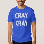 Internet blanco Memes de Cray Cray Camisas