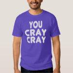 Internet blanco Memes de Cray Cray Playera