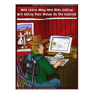 Internet Branding Funny Gifts Tees Cards Mugs Etc Postcard