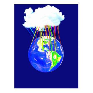 Internet Cloud Postcard
