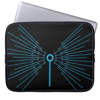 Internet concept. laptop sleeve