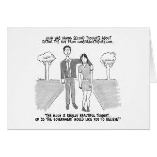 Internet Dating Greeting Card