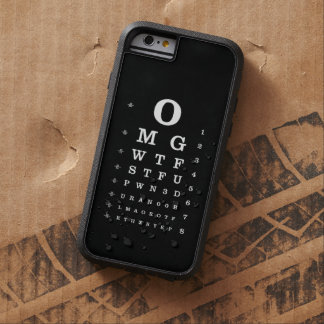 Internet Dictionary Eye Chart iPhone Case Tough Xtreme iPhone 6 Case