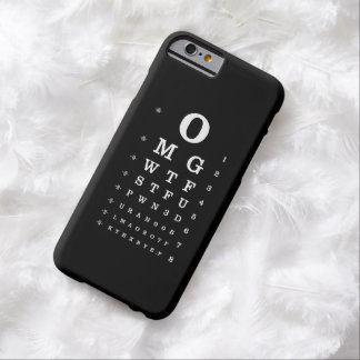 Internet Dictionary Eye Chart iPhone Case Barely There iPhone 6 Case