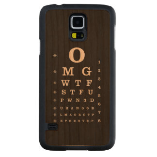 Internet Dictionary Eye Chart iPhone Case
