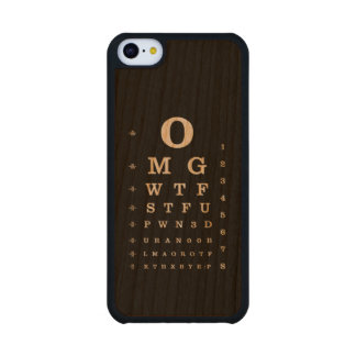 Internet Dictionary Eye Chart iPhone Case Carved® Cherry iPhone 5C Case