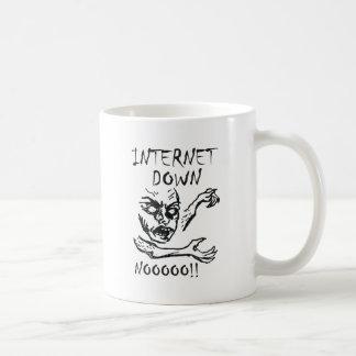 Internet Down.  NOOOO! Coffee Mug