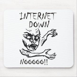 Internet Down.  NOOOO! Mouse Pad