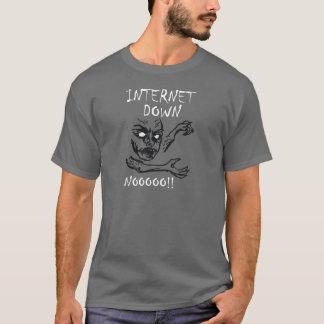 Internet Down.  NOOOO! T-Shirt