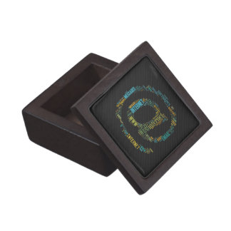 Internet Email Typed Text Symbol | Geek Gift Box