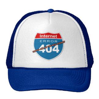 Internet Error 404 Trucker Hats