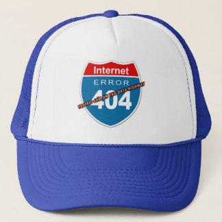 Internet Error 404 Trucker Hat