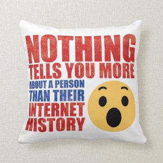 Internet History Cushion
