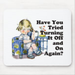Internet Humor Mouse Pad