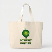 Internet Hustler Jumbo Tote Bag