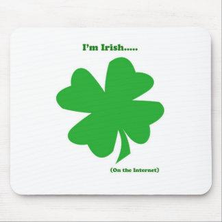 Internet Irish Mouse Pad