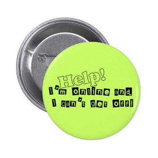 Internet Junkie Button
