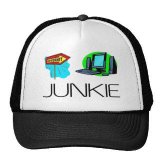 Internet Junkie - Computer Junkie Trucker Hat