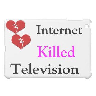 Internet Killed Television iPad Mini Cases