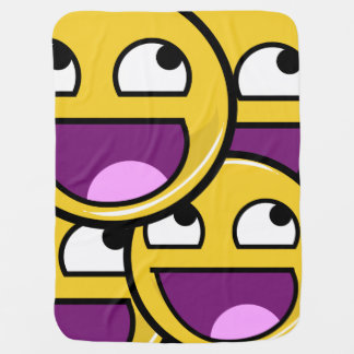 Internet Meme Awesome face(s) Baby Blanket