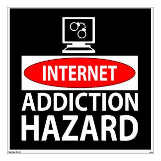 Internet - peligro del apego vinilo