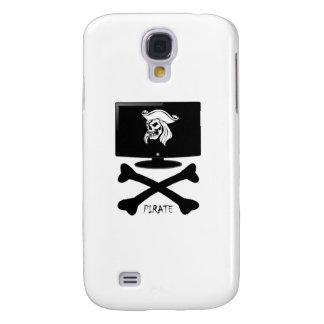 Internet Pirate Skull Shirt Galaxy S4 Case