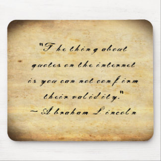 Internet Quotes Mouse Pad